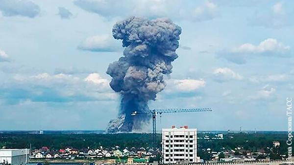 Дзержинск пережил взрывы авиабомб