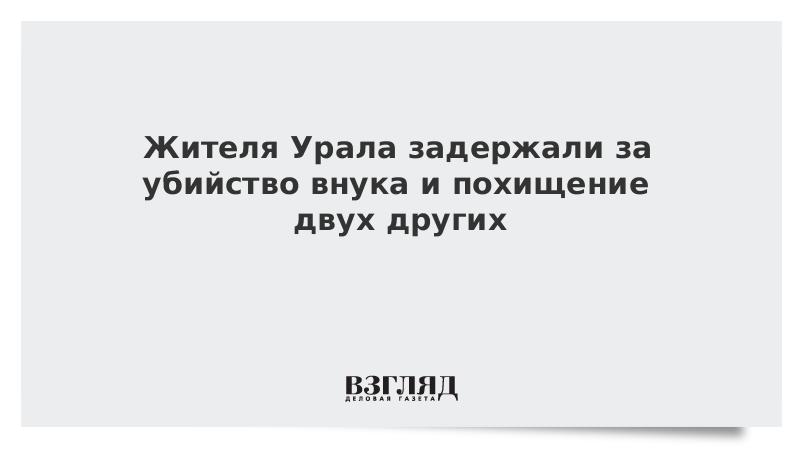 Жителя Урала задержали за убийство внука и похищение двух других