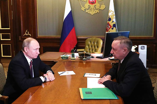 Мнения: Кремль поддержал обновление Петербурга