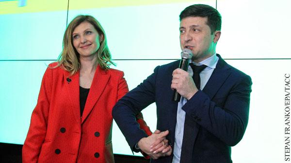 Жена Зеленского ответила на обвинения в наркомании мужа