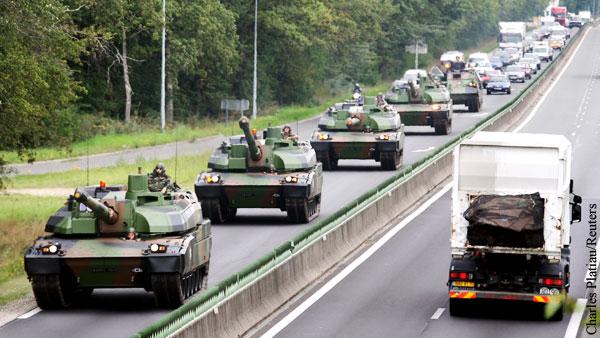 Французских танкистов предостерегли от игр с оружием на границе России