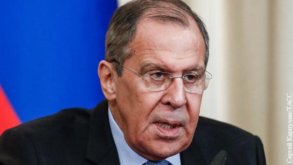 Лавров заявил о бесцеремонном вмешательстве США в проект «Северный поток – 2»