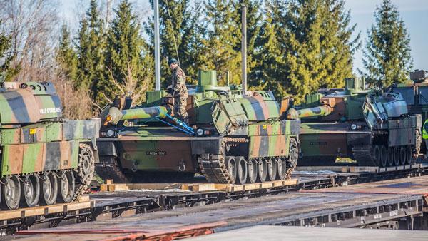 Чем Россия встретит французских танкистов