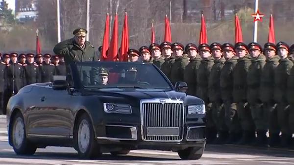 Кабриолет из «Кортежа» Путина впервые показали без маскировки