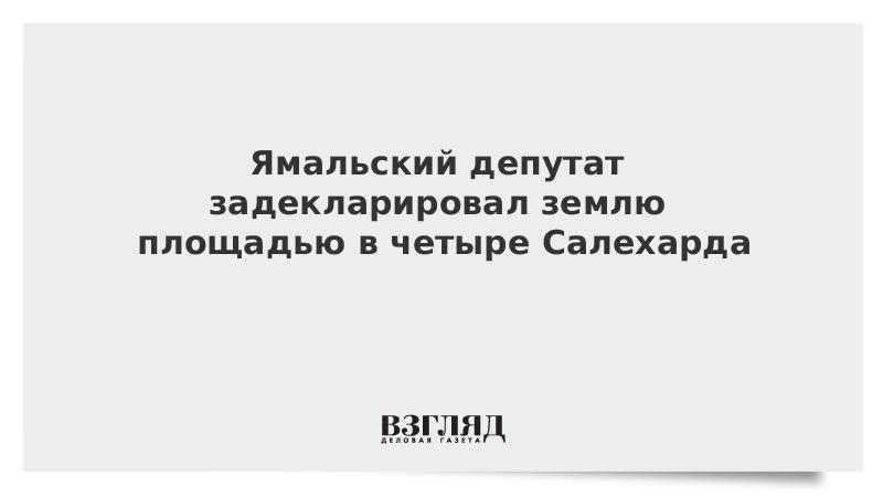 Ямальский депутат задекларировал землю площадью в четыре Салехарда