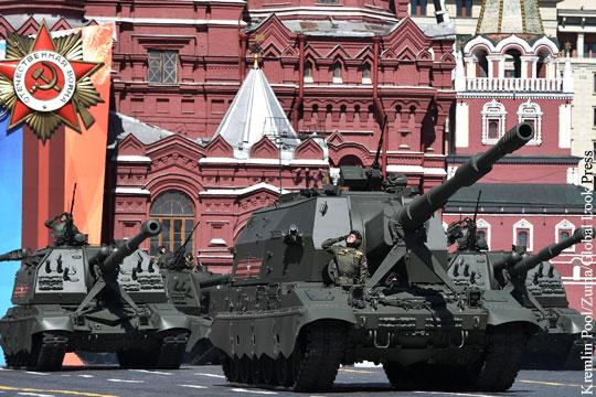 Участвующая в параде Победы боевая техника прибыла в Москву