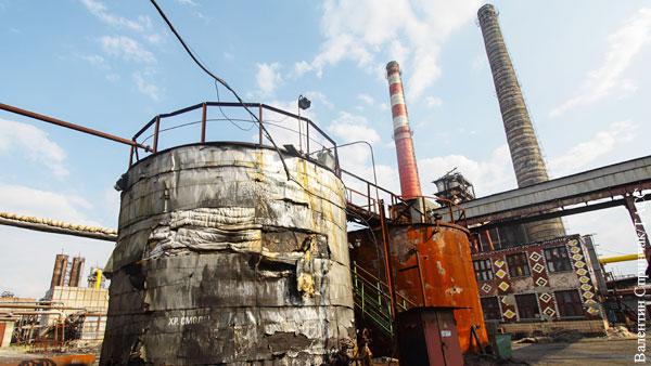Экономика: Промышленность Украины превратилась в выжженную землю