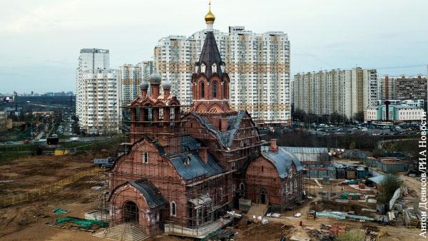Почему строятся новые храмы вместо восстановления старых?