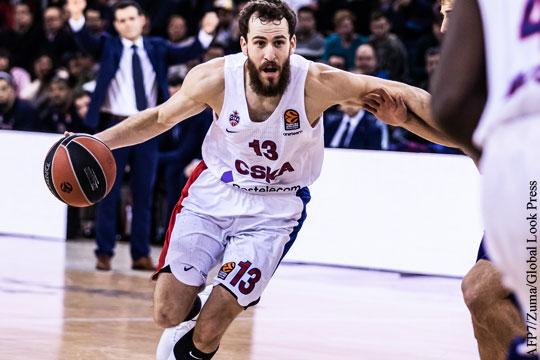 ЦСКА стал чемпионом баскетбольной Евролиги