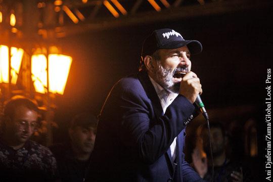Анонсирован «второй этап революции» в Армении