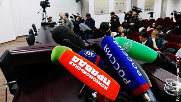 На Украине потребовали «отлавливать» прибывших на инаугурацию Зеленского российских журналистов