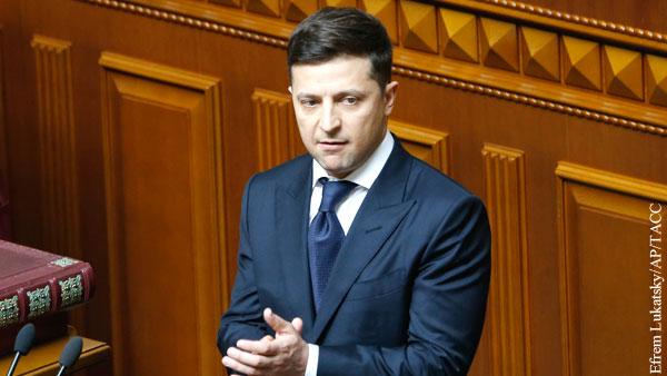 Эксперт: В речи Зеленского зашкаливал популизм