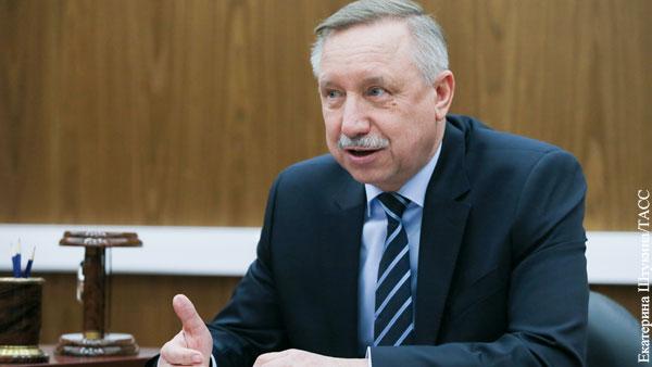 Эксперты отметили целеустремленность руководителя Петербурга Беглова