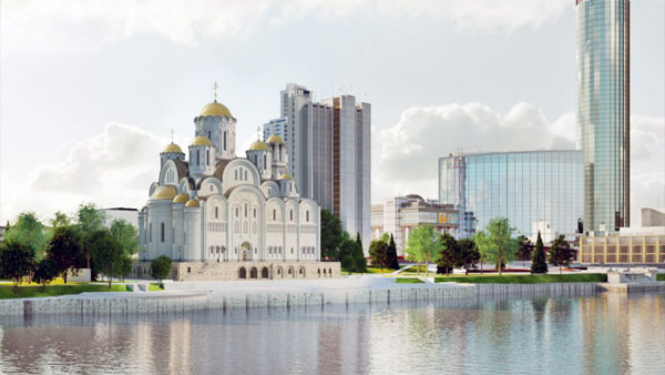 Жители Екатеринбурга выступили за строительство храма в другом месте