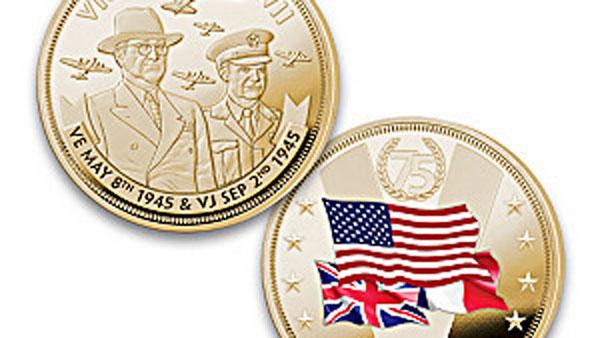 На выпущенной в США монете СССР «исключили» из числа победителей Второй мировой войны