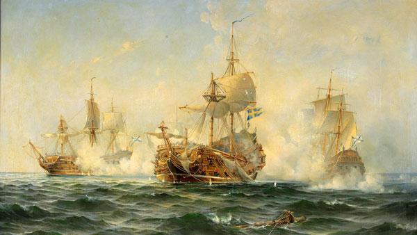 Как русские моряки принудили шведов к миру