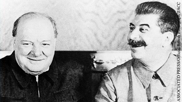 Почему Путин похвалил Черчилля за Сталина