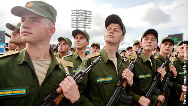 Офицер объяснил рост популярности службы в армии среди россиян