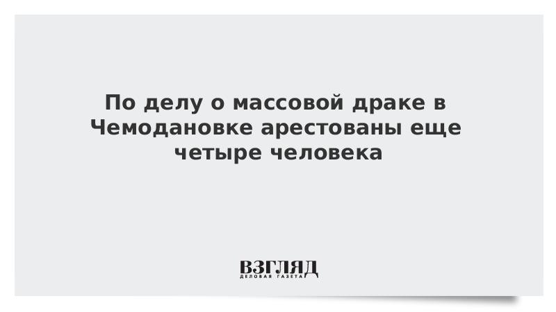 По делу о массовой драке в Чемодановке арестованы еще четыре человека