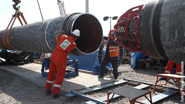Газпром сделал Дании последнее предупреждение