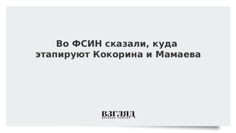 Во ФСИН сказали, куда этапируют Кокорина и Мамаева