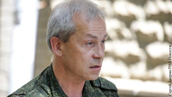 Басурин гарантировал безопасность Зеленскому в случае визита в Донецк