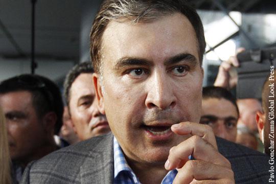 Саакашвили с угрозами и наручниками вернулся в Одессу
