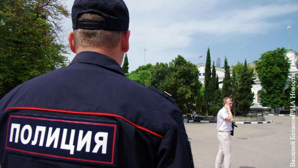 В Крыму создали туристическую полицию