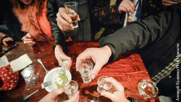 Производители заявили об изменении культуры потребления водки в России