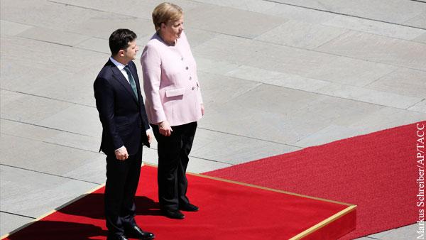 Зеленский объяснил свое бездействие, когда Меркель стало плохо