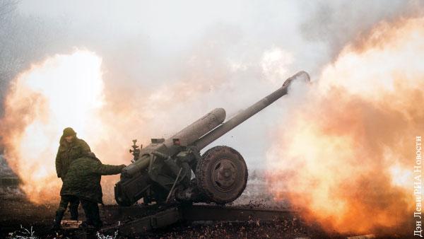 ВСУ нанесли массированный артиллерийский удар по Донецку
