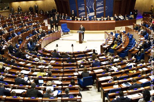 ПАСЕ приняла резолюцию для возвращения России
