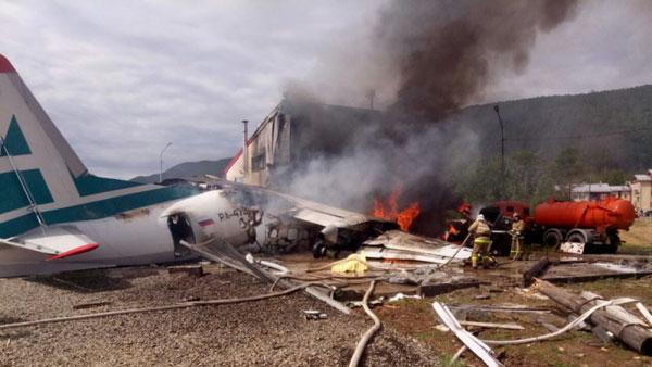 Что привело к трагедии Ан-24