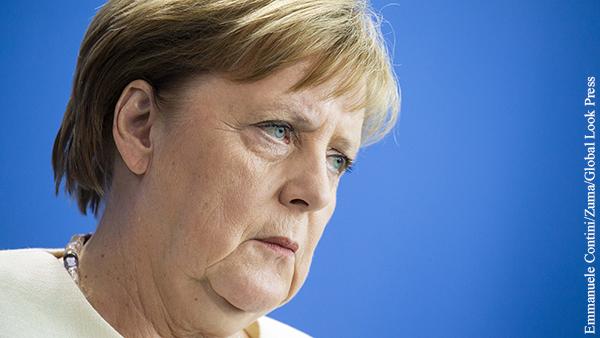 Немецкие СМИ намекнули на изгнание Меркель из политики