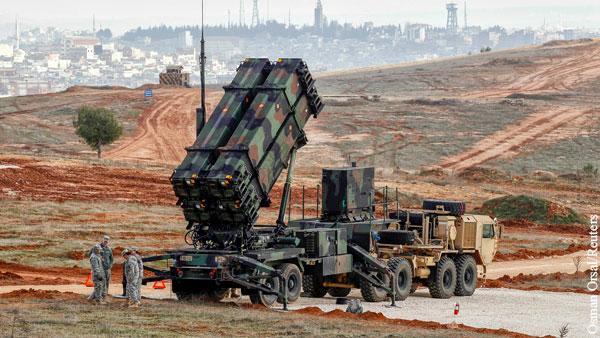 Турция допустила закупку американских ЗРК Patriot