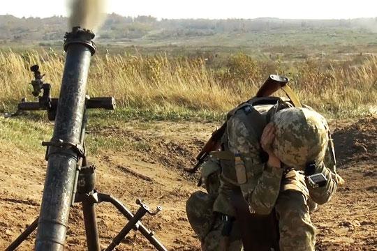 Опубликовано видео обстрела Первомайска
