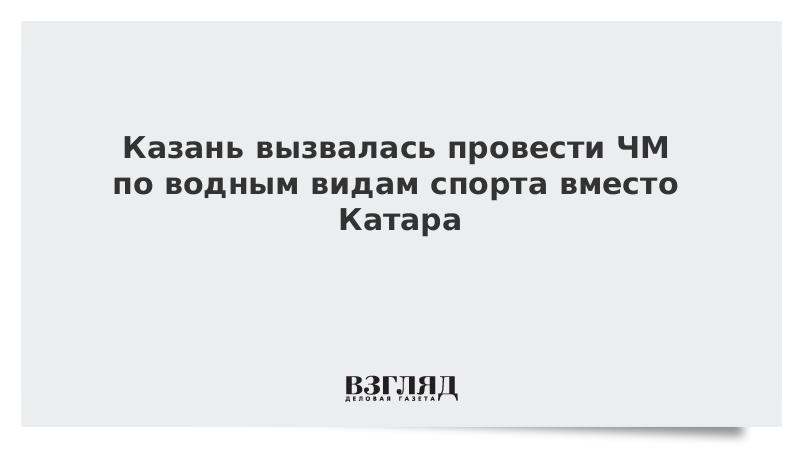 Казань вызвалась провести ЧМ по водным видам спорта вместо Катара