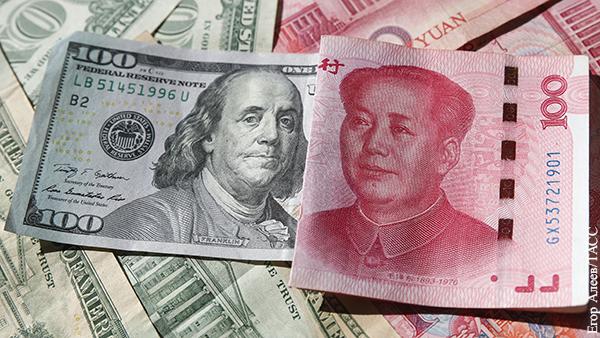 Россия потеряла больше миллиарда долларов из-за юаня