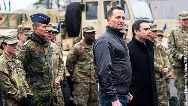 США пугают немцев прекращением оккупации