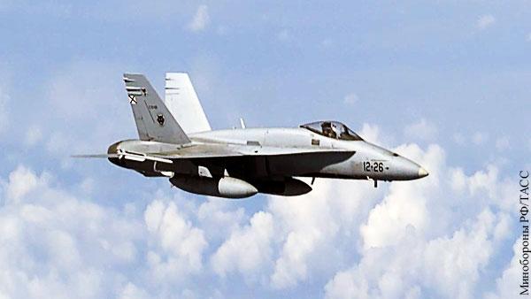 НАТО объяснило приближение истребителя к самолету Шойгу