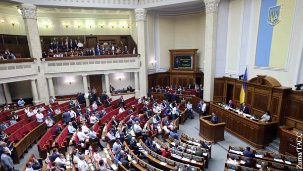 В Раде заявили о законности использования русского языка украинскими депутатами