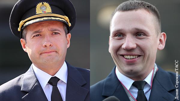 Путин присвоил пилотам самолета из Жуковского звания Героев России
