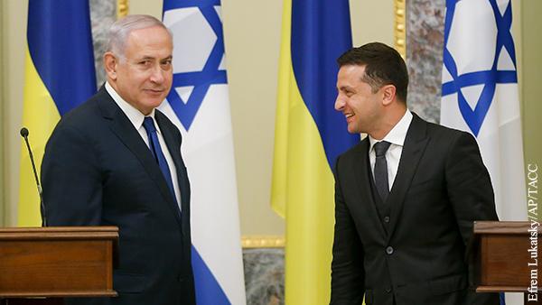 В чем Зеленский и Нетаньяху искали взаимную выгоду