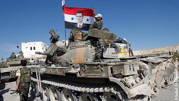 Сирийская армия заняла Хан-Шейхун