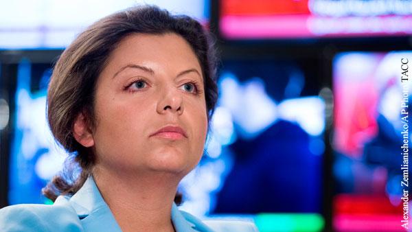 Симоньян прояснила слова Венедиктова о ее рыданиях из-за Лесина