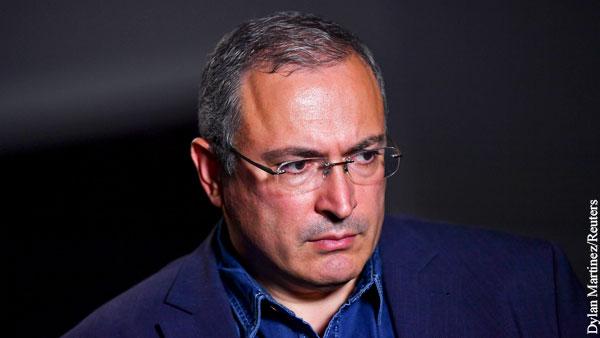Ходорковский жестко раскритиковал стратегию Навального