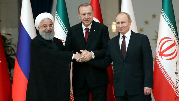 В Кремле подтвердили подготовку саммита России, Ирана и Турции