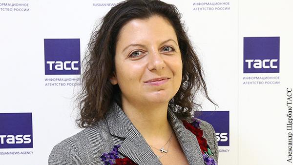 Симоньян сопоставила истории Сенцова и Савченко