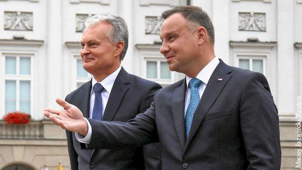 Литва и Польша мирятся ради ненависти к России