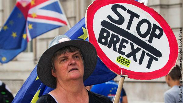 Британия признала угрозу продовольственного кризиса из-за Brexit